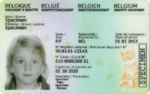 En voyage?  N'oubliez pas la Kids-ID de votre enfant